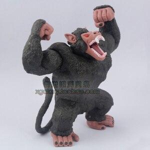 Драконий жемчуг Z Kakarotto большая обезьяна фигурка Сон Гоку кукла ПВХ ACGN фигурка Гараж Набор Brinquedos аниме 13 см Ослик Конг