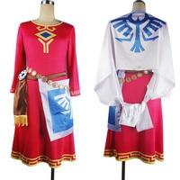 The Legend of Zelda Princess Zelda Childhood Dress Halloween Cosplay Costume Xmas Gift