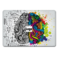 Venta caliente para apple macbook del ordenador superior de vinilo calcomanía Cerebro de moda World Map Design Piel Aire Retina Pro Notebook etiqueta