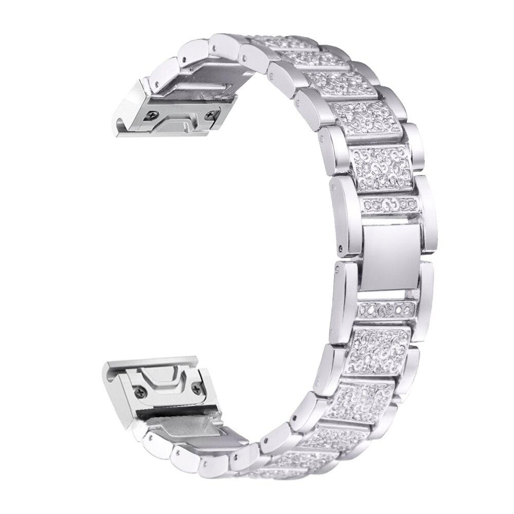 26mm ajuste rápido relógio de substituição metal