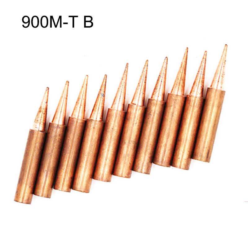 900M-T-I Copper Iron 900M-T-B K Copper Stings Soldering Tip For Hakko Soldering Rework Station Soldering Iron Station 900 M