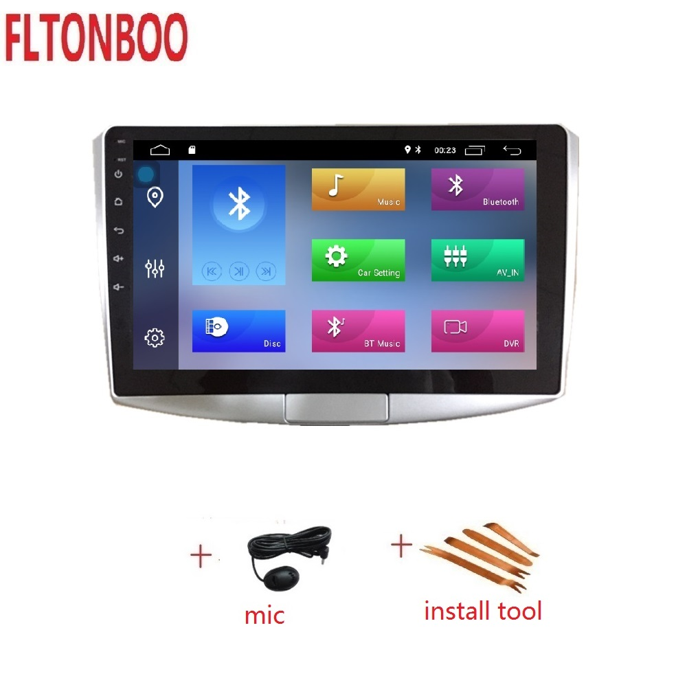 10 1 inch Android 9 Car GPS Navigation Radio Player for Volkswagen VW Magotan Passat CC