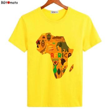 T-shirt Afrique Cartoon