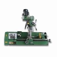 380 V Pequeno Full Metal Multifunções Máquina de Perfuração Fresadora Torno  Casa/DIY/Indústria de Transformação/Industrial fabricação