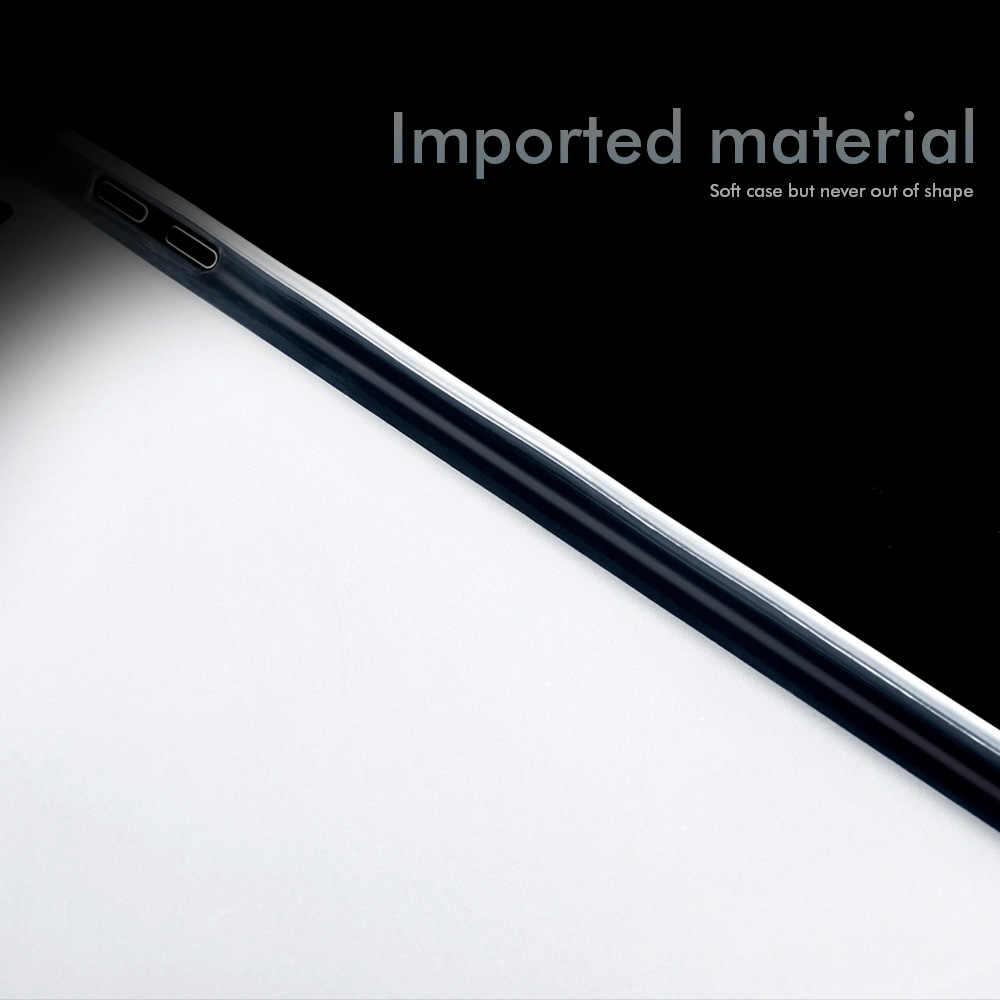 Прозрачный противоударный чехол для huawei MediaPad M5 lite BAH2-W19 BAH2-L09 10,1 дюймов Чехол Водонепроницаемый задняя прозрачная крышка бампера