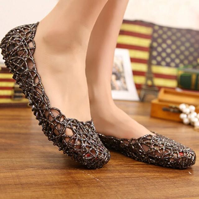 Women's Sandals 2016 New Summer Women Shoes Casual Jelly Tenis Feminino Mesh Flats Sandalias Femininas Fashion Women Sandals