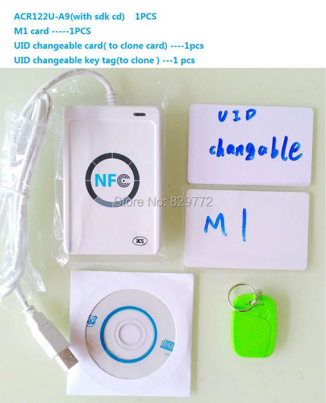 Hot Sale] RFID Smart Card Reader Writer Copier Duplicator