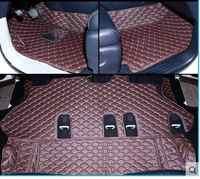 Beste qualität! spezielle fußmatten für Infiniti QX80 8 sitze 2017-2013 beständigen wasserdichten teppiche teppiche für QX80 2016, Freies verschiffen