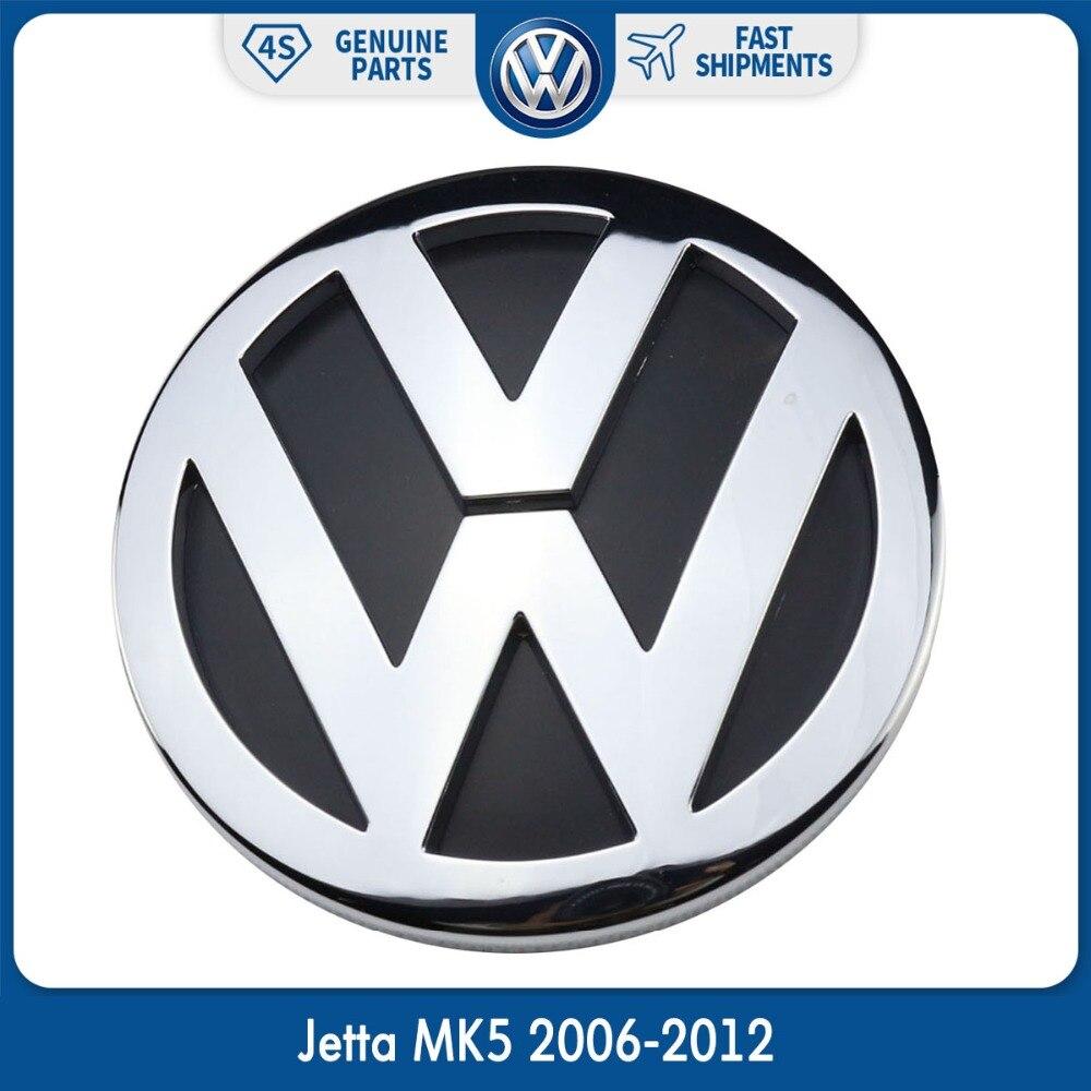 OEM 100 milímetros Chrome Emblema Logotipo 1K5853630FCS MK5 Trunk Lid Traseiro Do Emblema para Volkswagen VW Jetta 2006-2012