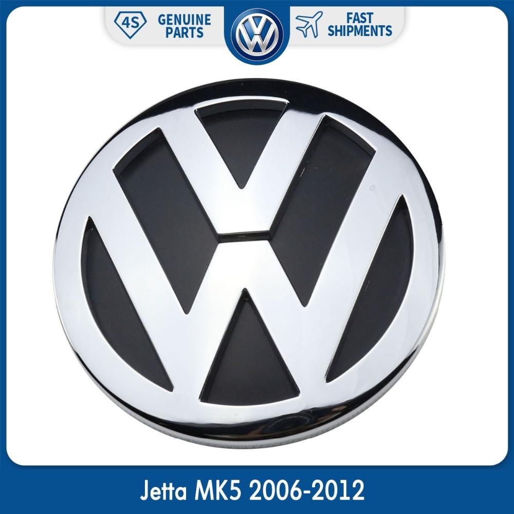 OEM 100mm Chrom Abzeichen Logo 1K5853630FCS Hinten Stamm Deckel Emblem für Volkswagen VW Jetta MK5 2006-2012