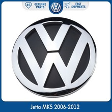 OEM 100mm Chrome Badge Logo 1K5853630FCS Rear Trunk Lid Emblem for Volkswagen VW Jetta MK5 2006-2012