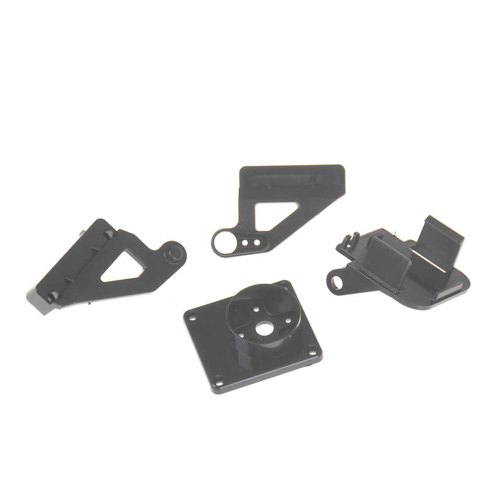 1 st voor Vliegtuigen FPV gewijd nylon PTZ voor 9G SG90 MG90S Servo beugel PT Pan/Tilt Camera Platform Anti-Vibration Camera Mount