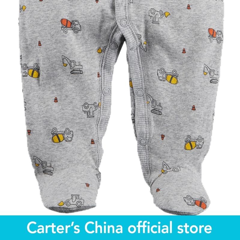 cd52c5727 Carter s 1 Piece baby children kids clothing Boy Truck Snap Up ...