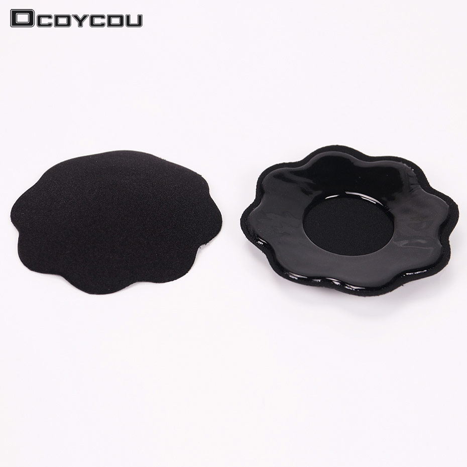 2ab6ba0a51964 Aliexpress.com   Buy 1 Pair Sexy Reusable Self Adhesive Silicone Breast Pad  Pasties Petal Chest Stickers Nipple Cover Invisible Intimates Accessories  from ...