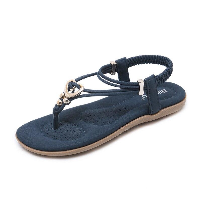 Mujeres Ocasionales Las 2 1 Decorar De Mujer Sandalia 3 Zapatos Banda Playa Estrecha Plataforma 2019 tEqgO