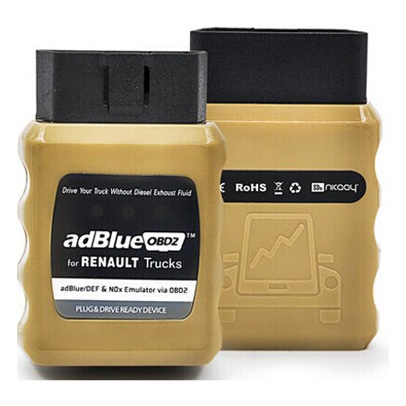 Prix pour 2017 Nouvelle Arrivée Adblue Émulateur AdblueOBD2 pour Renault Camions Plug et Variateur Prêt Dispositif Livraison Gratuite