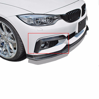 F32 F33 F36 420i 425i 430i 440i M Sport M tech Carbon Fiber Side Fender Air Vents Kit Trim Cover For BMW 2014 2015 2016
