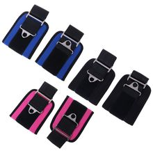 2pc Ankle Strap Fitness Bandage Gym Hip Leg Muscle Training Ankle Support Adjustable Buckle Thigh Body Building Lifting Exercise