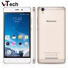 Оригинал Blackview A8 MTK6580 5 дюймов 1280×720 IPS HD Quad Core Android 5.1 Мобильный Сотовый Телефон 1 ГБ RAM 8 ГБ ROM 8MP CAM WCDMA