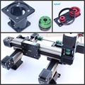 MJ45 linear motions system Belt Drive Linear Guide and Linear Rail