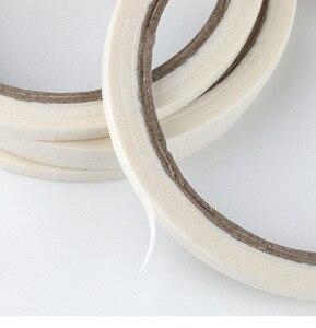 Image 3 - 1 Roll 3mm White Creative Nail Art Tape DIY Design Masking Tape Sticker Nail Decoration Guide Stripe Tools