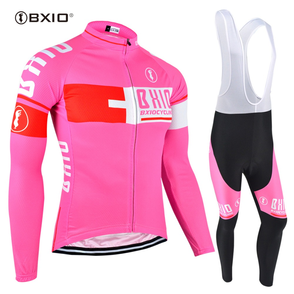 BXIO Brand 2018 Women Cycling Jersey Sets Sport Jerseys Raiders Outdoor Clothing Funny Pro Team Ropa Ciclismo BX-0109FG025 brand baseball jerseys 28 s xx coolbase