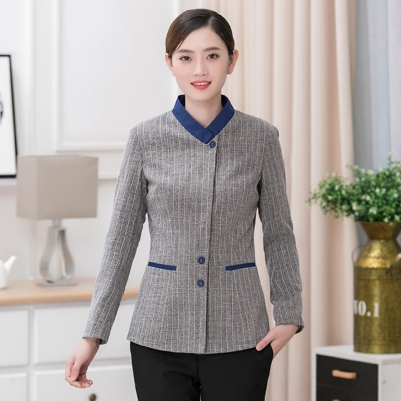 Housekeeping Uniforms Hotel Supplies Maid Hotel Cleaner Uniform Workwear Cleaning Service Uniform Waitress Clothing DD1637