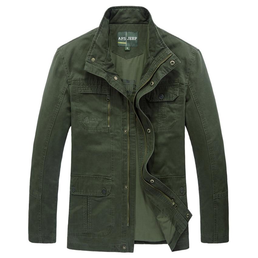 2017 New Men's Casual Jackets AFS JEEP Men Army Military Outwear Jacket Jaqueta Masculina Coats Parka Men Jacket 145