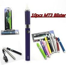 10ชิ้นบุหรี่อิเล็กทรอนิกส์evod MT3 ecigarette 1100มิลลิแอมป์ชั่วโมงแบตเตอรี่อัตตาvapeปากกาvaporizerบุหรี่อิเล็กทรอนิกส์บุหรี่อิเล็กทรอนิกส์เริ่มต้นก้อนตุ่มชุด