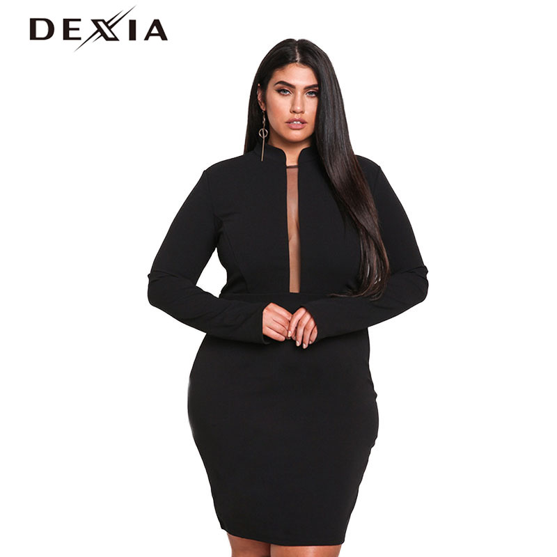 Women's Clothing Womens Sexy Fashion Hanging Neck Dress Lace Hollow Loose Large Dress Spring Summer Autumn Vestidos