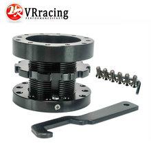 Vr Racing-черный Регулируемый 40 мм до 70 мм рулевое колесо Spacer Boss концентратора комплект VR-SWF21