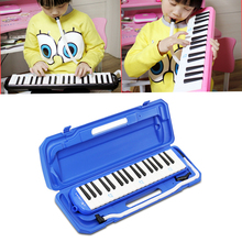 37 Piano Keys Keyboard Style Melodic With Hard Storage Case Organ Accordion Children Students Musical Instrument Carrying Bag цена в Москве и Питере