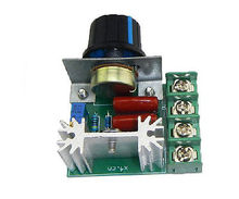10 pcs 220V 2000W SCR Speed Controller Voltage Regulator Module Modulation good