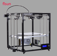 Aluminum Structrue 3d printer Machine Build Size 260*260*350mm DIY 3d Printer Heated Bed With Two Rolls Filament SD Card
