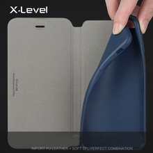 Leather Case For iPhone  Business Style Flip