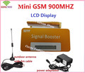 1 Conjunto LCD GSM Repetidor 900 MHz 20dBm 65db Tamanho Mini GSM Reforço de Sinal de Telefone Celular Amplificador de Sinal, 900 MHz Repetidor de Sinal de Celular
