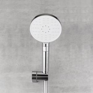 Image 3 - Youpin Dabai Diiib 3 מצבי כף יד מקלחת ראש סט 360 תואר 120mm 53 מים חור עוצמה מקלחת עם בעל