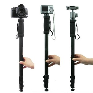Image 3 - HAFEI סגסוגת מקצועי חצובה מצלמה חדרגל WT 1003 עבור Canon Eos ניקון D SLR DSLR משלוח חינם קל משקל 67 אינץ