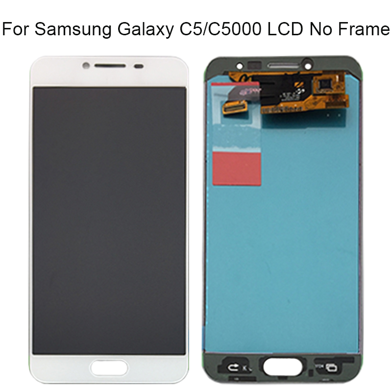 For SAMSUNG GALAXY C5 C5000 LCD Display Screen with Touch Screen Digitizer Assembly Replace 100 Tested