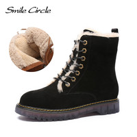 Women Winter Boots Real Wool Classic Mujer Botas Waterproof Genuine Leather Snow Boots Women Ankle Boots