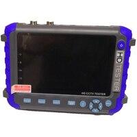 Портативный 1080P HD CCTV Камера тестер Поддержка AHD TVI CVI Cam Аудио Видео коаксиальный Тестирование с Батарея встроенный для Питание