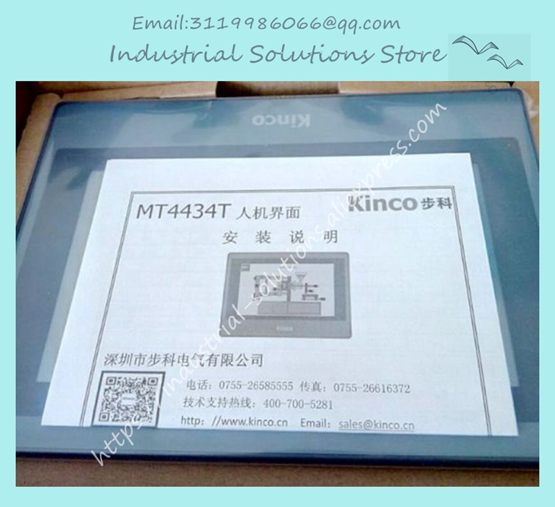 MT4434T HMI Touch Screen 7 inch 800*480 TFT LCD panel New new hitech 5 7 inch hmi touch screen plc hmi operator panel display mono stn lcd pws6600s p 640 480 2com 1year warranty