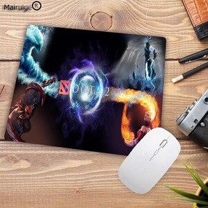 Image 5 - Mairuige DOTA 2 Ultimate Speed Mousepad ยางธรรมชาติ Gamer เมาส์ PAD เกมโต๊ะคอมพิวเตอร์เมาส์ Play MAT 18X22 ซม.