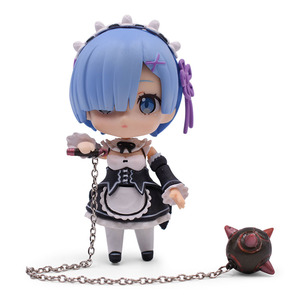 Image 2 - Re:Life In A Different World From Zero Rem Ram Action Figure PVC Toys Collection Model Doll For Friends Gifts 9.5cm