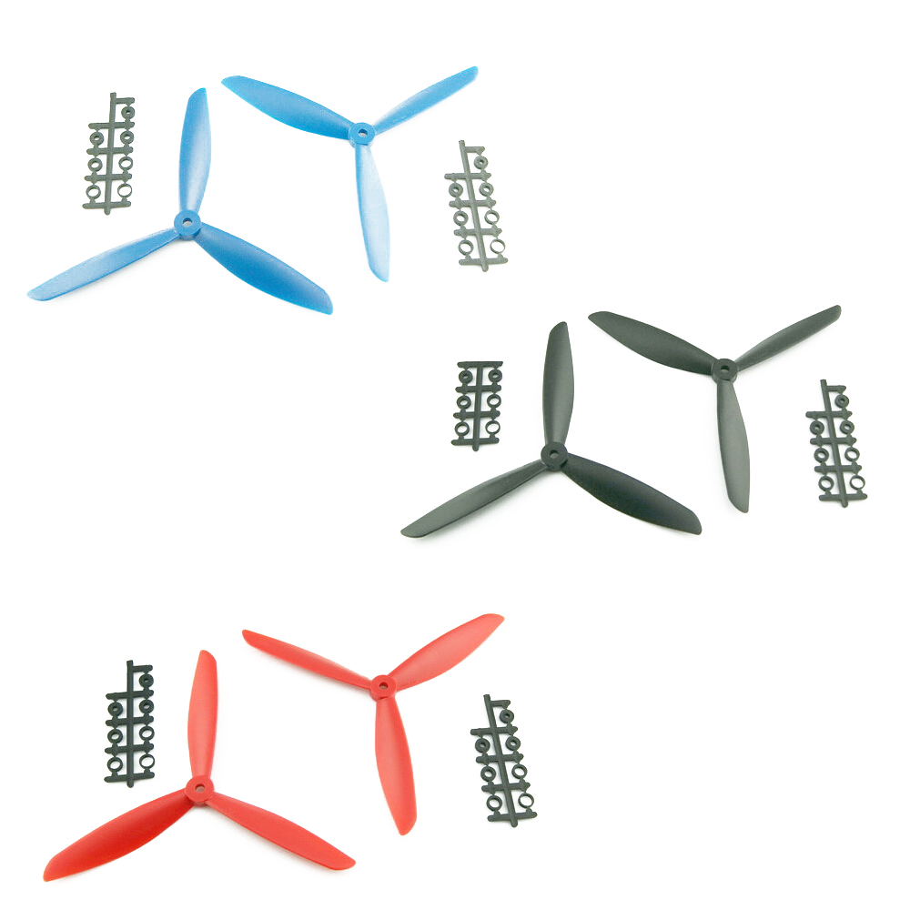 4pcs/lot Clover 5045 6045 7045 8045 CW/CCW Propeller for multicopter quadcopter FPV (2 pair) 4set lot original emax mt2216 810kv plus thread brushless motor 2 cw 2 ccw for multirotor quadcopters with 1045 propeller