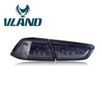 VLAND фабрика для автомобиля светодиодный фонарь для Lancer светодиодный фонарь 2008 2010 2012 2013 2015 Lanser с DRL + тормоза + обратный + сигнала