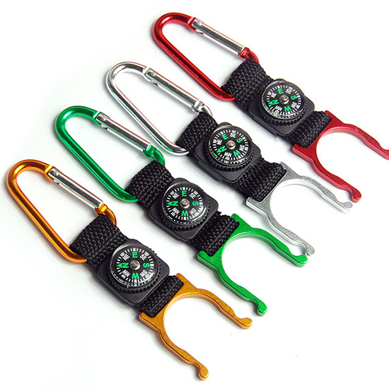 Survivor Outdoors Bottle Buckle Compass