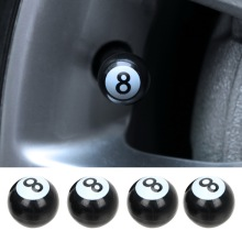 4PCS Universal Car Tire Air Valve Caps Tyre Air Valve Stem C