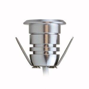 Image 2 - Mini LED, pod ziemią, lekka 1W IP67 ogród światła na zewnątrz wodoodporna okrągła dioda LED krok światła DC12V LED światła pokładowe reflektor LED RGB