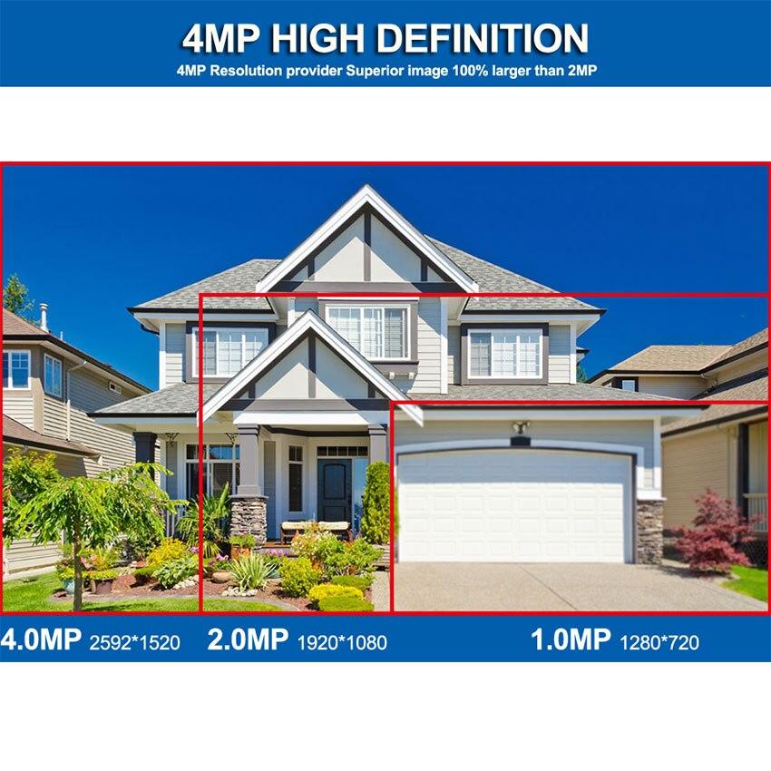 Smar 4MP POE Kamera 8CH POE NVR Sicherheit System Metall 2.0MP IR Outdoor Bullet IP Kamera P2P Video Überwachung Kit 2TB HDD